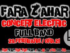 FARA ZAHAR Concert full band @IASI