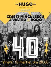 Cluj-Napoca: Iris, Cristi Minculescu, Valter& Boro - Turneu Indoor 40