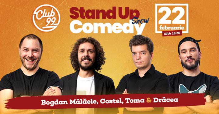 Stand up comedy cu Toma, Costel, Mălăele și Drăcea