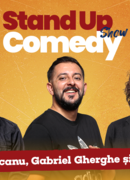 Stand up comedy cu Mocanu, Costel, Gabriel Gherghe si invitat