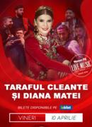 Live în Sufragerie: Taraful Cleante și Diana Matei