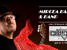 Timișoara: Mircea Baniciu & Band Live în Capcana