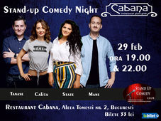 Stand Up Comedy cu George Tanase, Mane Voicu, Ana Maria Calita & Ioana State Show #2
