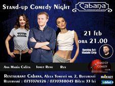 Stand Up Comedy cu Ionut Rusu, Ana Maria Calita, Rux & Madalin Carje