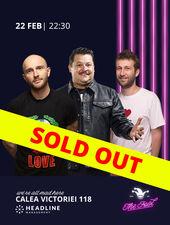 The Fool: Stand-up comedy cu Bordea, Bobonete și Radu Isac