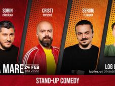 Baia Mare: Stand Up Comedy cu  Sorin Pârcălab, Sergiu Floroaia, Cristi Popesco & Mirică Show-ul 3