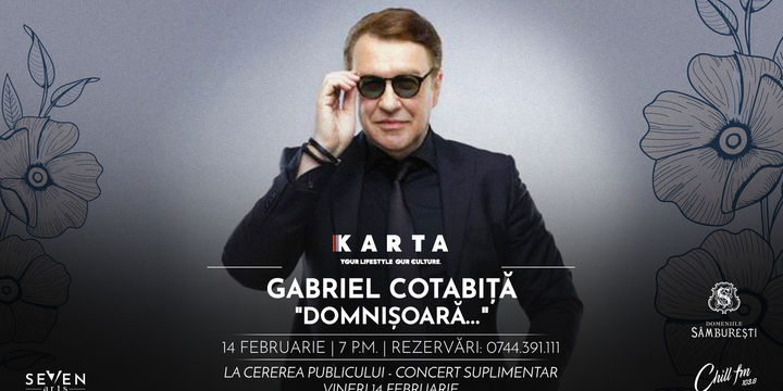 Gabriel Cotabiță live [on] Valentine's day (Show 2)