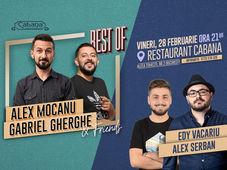 Stand Up Comedy cu Alex Mocanu, Gabriel Gherghe, Alex Serban & Edy Vacariu