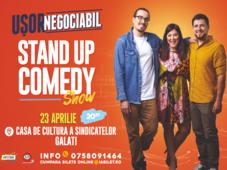 Galați: Stand up comedy cu Banciu, Maria Popovici si Mincu ''Ușor negociabil''