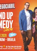 Brăila: Stand up comedy cu Banciu, Maria Popovici si Mincu ''Ușor negociabil''