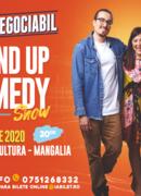 Mangalia: Stand up comedy cu Banciu, Maria Popovici si Mincu ''Ușor negociabil''