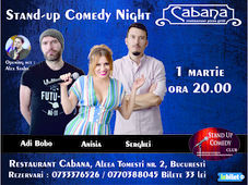 Stand Up Comedy cu Serghei, Anisia, Adi Bobo & Alex Sasha