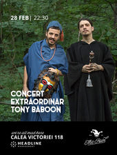 The Fool: Concert Extraordinar Tony Baboon