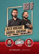 Stand-up Best Of cu Mocanu, Gherghe, Dracea si Mitran la ComicsClub!
