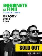 Brașov: Bobonete și Finii - Stand-up comedy