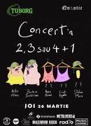 Concert în  2, 3 sau 4 + 1 - Ada Milea, Bobo Burlacianu și posibil:  Anca Hanu, Cristi Rigman și Stefan Mura