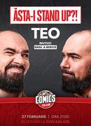 """Teo - """"Asta-i Stand-up?!"""" la ComicsClub"""