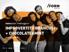 IMPROvertiții | Brâncuși + Chocolate & Mint Special Show