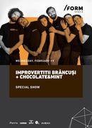 IMPROvertiții | Brâncuși + Chocolate & Mint Special Show