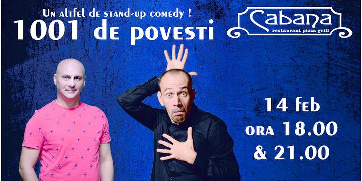 Un alt fel de stand-up - 1001 de povesti cu Tutu & Varza Show #1