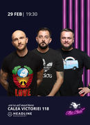 The Fool: Stand-up comedy cu Bordea, Gherghe și Cortea