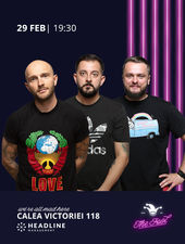 The Fool: Stand-up comedy cu Bordea, Gherghe și Cortea