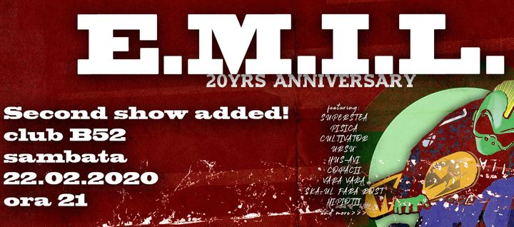 E.M.I.L. 20 De Ani (Second Show)