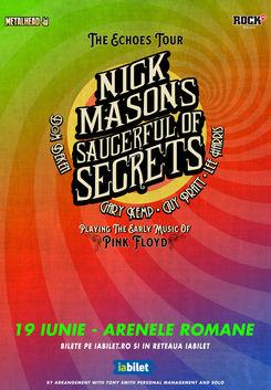 Bilete Nick Mason S Pink Floyd Saucerful Of Secrets La Arenele