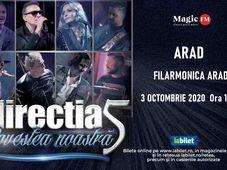 Arad: Concert Directia 5 - Povestea Noastra