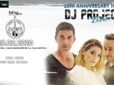 Cluj-Napoca: Turneu Național Dj Project 20 de ani
