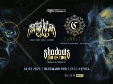 Cluj-Napoca: Machiavellian God, Carousel, Shadows Out of Time live