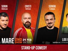 Baia Mare: Stand Up Comedy cu  Sorin Pârcălab, Sergiu Floroaia, Cristi Popesco & Mirică Show-ul 4