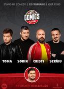 Stand-up cu Cristi, Toma, Sergiu si Sorin la ComicsClub SHOW 2
