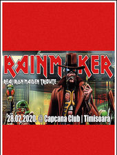 Timisoara: Iron Maiden Real Tribute - Rainmaker