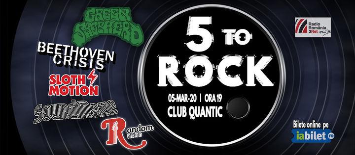 5 To Rock @Quantic