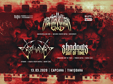 Timisoara: Machiavellian God,Athame and Shadows Out of Time