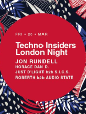 Cluj-Napoca: Techno Insiders London Night