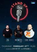Stand-up comedy cu Natanticu, Toni Andrei si Zob