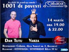 Un alt fel de stand-up - 1001 de povesti cu Varza & Dan Tutu Show #1