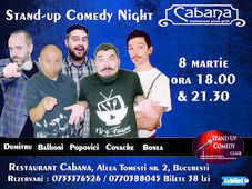Stand Up Comedy cu Cristian Dumitru, Tiberiu Popovici, Fulvio Balboni, Marius Covache & George Bonea Show #2
