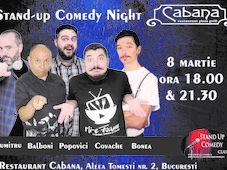 Stand Up Comedy cu Cristian Dumitru, Tiberiu Popovici, Fulvio Balboni, Marius Covache & George Bonea Show #1