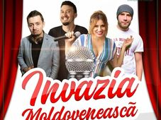 Arad: Stand up comedy: Invazia moldoveneasca