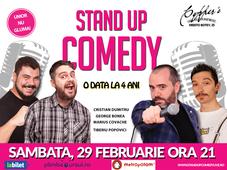 Stand-Up Comedy Bucuresti 29 Februarie