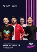 The Fool: Stand-up comedy cu Bordea, Micutzu, Mane și Teodora