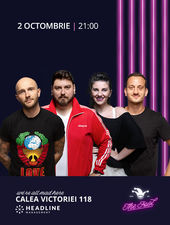 The Fool: Stand-up comedy cu Bordea, Micutzu, Mane și Teodora