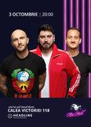 The Fool: Stand-up comedy cu Bordea, Micutzu și Mane