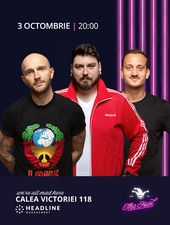 The Fool: Stand-up comedy cu Bordea, Micutzu și Mane