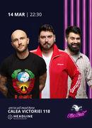 The Fool: Stand-up comedy cu Bordea, Micutzu și Geo