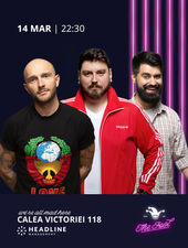 The Fool: Stand-up comedy cu Bordea, Micutzu și Geo