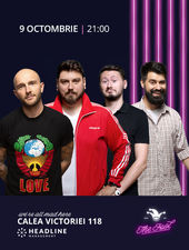 The Fool: Stand-up comedy cu Bordea, Micutzu, Claudiu și Geo